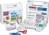 OSHA Compliant First Aid Kits ~ 105-Piece, 25 Person Bulk ANSI Kit