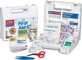 OSHA Compliant First Aid Kits ~ 105-Piece, 25 Person Bulk ANSI Kit
