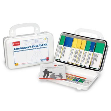 Landscaper's First Aid Kit ~ 10 unit, 94-Piece Kit, Plastic Case