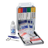 Vehicle First Aid Kit ~ 94 Piece - Metal Case