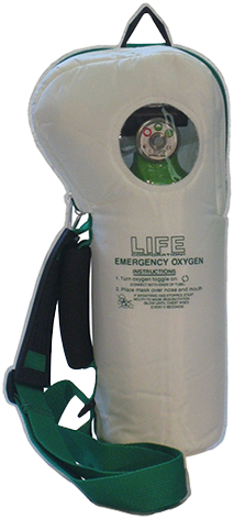 Life® O2 Softpac Emergency Oxygen Unit