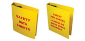 1.5 Inch MSDS Binders English Language Pic 1