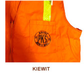 Safety Vest Screen Printing Services (Solid Material Vests) SINGLE COLOR - VESTS SOLD SEPARATELY