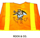 Safety Vest Screen Printing (Solid Material Vests) MULTI COLOR
