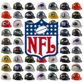 All NFL Hard Hats