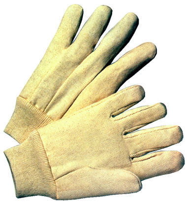 8 Ounce Cotton Canvas Gloves Pair Pic 1