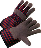 Single Palm Work Gloves w/ Gauntlet Cuffs Pic 1