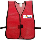 Tasco Multi Color Red Vest Pic 1