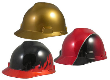 MSA Specialty Cap Style Hard Hat with Ratchet Suspension