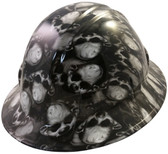 Mr Creepy Hydro Dipped Hard Hats Full Brim Style
