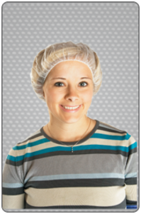 Nylon Mesh Disposable Hairnets (All sizes)   pic 1