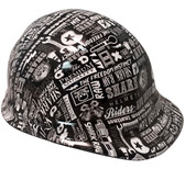 Bits and Bobs Hydro Dipped Hard Hats Cap Style