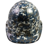 Navy Digital Camo Hydro Dipped Hard Hats Cap Style