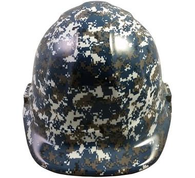 Navy Digital Camo Hydro Dipped Hard Hats Cap Style