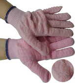Pink Honeycomb Grip Work Gloves Pic 1