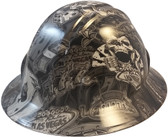 Vegas Baby Hydro Dipped Hard Hats Full Brim Style ~ 01