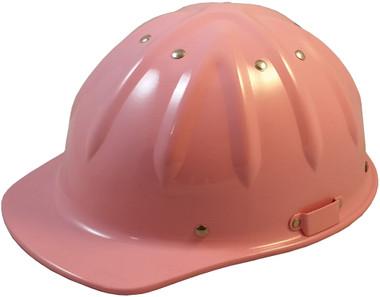 Skullbucket Aluminum Cap Style Hardhats Pink