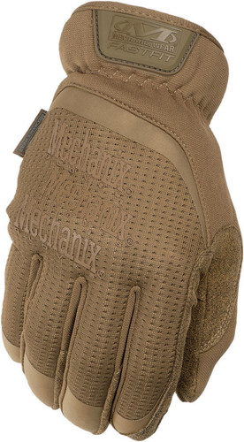 Mechanix Fast Fit Gloves Coyote Tan Color ~ Back View