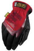 Mechanix Fast Fit Red Gloves, Part # MFF-02 pic 2
