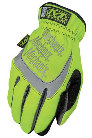 Mechanix Fast Fit Hi Viz Yellow Gloves, Part # SFF-91 pic 2