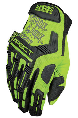 Mechanix M-Pact Hi Viz Yellow Gloves, Part # SMP-91 pic 4