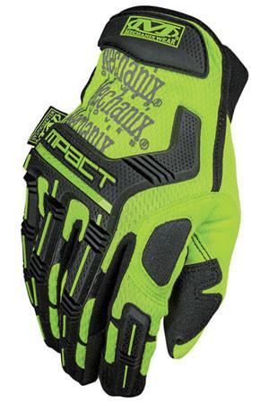Mechanix M-Pact Hi Viz Yellow Gloves, Part # SMP-91 pic 4