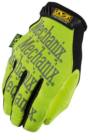 Mechanix Original Hi Viz Lime Gloves, Part # SMG-91 pic 2