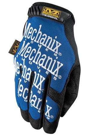 Mechanix Original Blue Work Gloves, Part # MG-03 pic 4