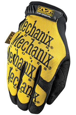 Mechanix Original Yellow Work Gloves, Part # MG-01 pic 4