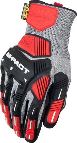 Mechanix ORHD Knit CR5 Gray Glove ~ Back View