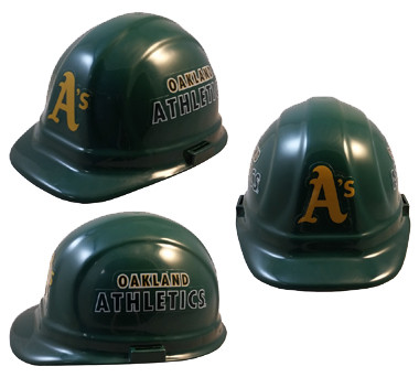Oakland Athletics Hard Hats