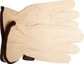 Goatskin Leather Work Gloves with Keystone Thumb Pic 1
