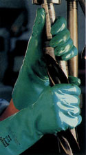 Edmont Sol-Vex Nitrile Glove (11 Mil, Unlined) Pic 1