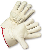 Top Grain Cowhide w/ Safety Cuff Gloves Pic 1