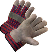 Single Palm Industrial Work Gloves Pic 1