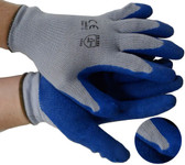 Cotton Knit Conforming Glove w/ Natural Rubber Pic 1