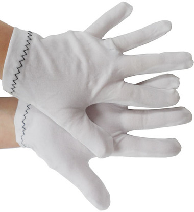 Cotton Lisle Regular Weight Gloves Pic 1