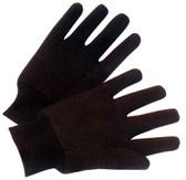 Brown Jersey Regular Weight Gloves Pic 1