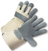 Heavy Duty Leather Glove w/ Gauntlet Cuffs Pic 1