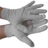 Nylon Lint Free Inspectors hemmed Gloves Pic 1
