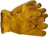 Deerskin Full Leather Glove with Keystone Thumb Pic 1