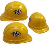 Nashville Predators Hard Hats ~ Pin-Lock Suspension Full View