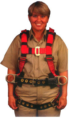 Eagle Harness Small Size - Supplemental View