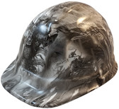 Modern Soldier Hydro Dipped Hard Hats, Cap Style Design ~ Oblique View