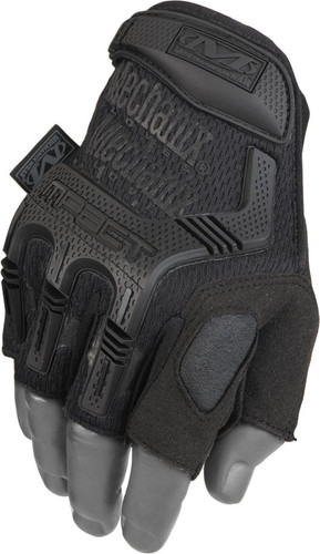 Mechanix M-Pact Fingerless Black Gloves, Part # MFL-55-500 Main Pic