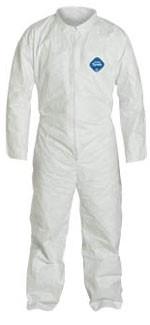 DuPont TYVEK Nonwoven Fiber Coveralls Standard Suit With Zipper Front