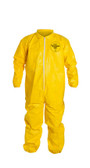 Tyvek QC Coveralls, Serged Seams, with Elastic Wrists and Ankles (12 per case) ~ Size Small