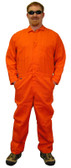 Nomex IIIA Orange Flame Resistant Coveralls  pic 1
