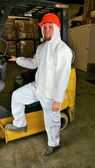 Suntech Microporous Coveralls w/ Hood, Boots, Wrists   pic 1