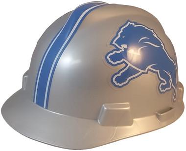 Detroit Lions Hard Hats - Oblique View